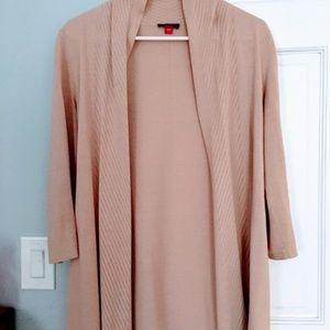Pointelle Cardigan (Pink)